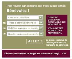 bureau plus montreal cabm widget100126 cabm jpg volunteer bureau of montreal