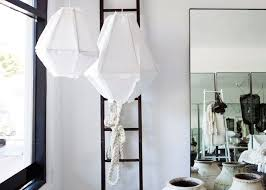 Linen Pendant Light 10 Easy Pieces Fabric Pendant Ls Remodelista