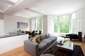small studio apartment living dining room open floor plan open