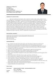 Resume Format For Engineering Jobs by Resume Format For Experienced Civil Engineers Resume For Your