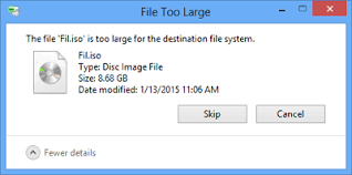Unsupported Partition Table Fix U0027file Is Too Large For Destination File System U0027 Error In