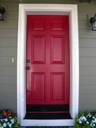 How Much Paint Do I Need Exterior - rob u0026 val u0027s renovation rental u2014 house tour painted front doors