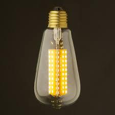 dimmable led light bulbs watt dimmable led e27 clear edison bulb