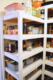Building Wood Shelves In Pantry by Diy Functional Pantry Shelving The Happy Scraps