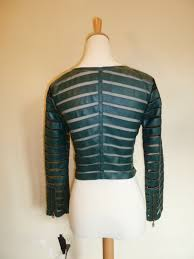 mesh motorcycle jacket green faux leather u0026 mesh motorcycle jacket zayna style