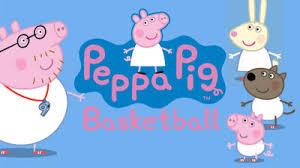 peppa pig basketball nick jr uk
