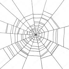 halloween spider web background spider web hand drawn on isolated white background background