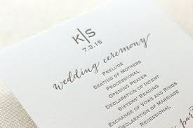 programs for wedding ceremony 26 unique wedding ceremony programs we absolutely adore the