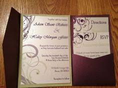 pocket invites navy and yellow wedding invitation set sle striped pocket