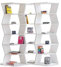 cool zig zag modular bookcase my desired home