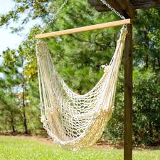 hammock swing with metal stand chair 10684 interior decor
