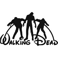 mash jeep decals walking dead disney mash up t vinyl decal sticker ballzbeatz com