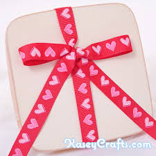 patterned ribbon patterned ribbon grosgrain with pink hearts 5 8 15mm