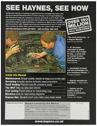 haynes 4780 service and repair workshop manual amazon co uk car