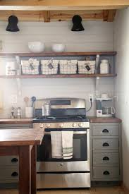 Hutch Kitchen Cabinets White Diy Apothecary Style Kitchen Cabinets Diy Projects