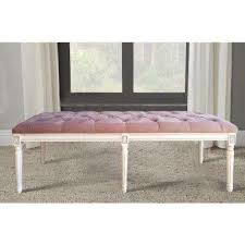 pink bedroom benches bedroom furniture the home depot