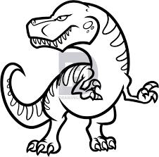 draw dinosaur head image dinosaur 2017