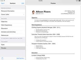 Best App For Resume by Mac Support Cover Letter