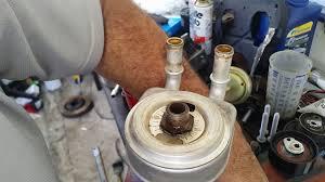 New Óleo na Água? Verifique o trocador de calor ! (Peugeot 307 2.0  #WD79