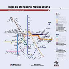 Santiago Metro Map by Road Map Chile