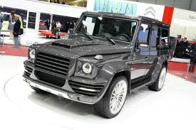 mansory mercedes mansory went carbon fibre crazy with the mercedes benz g class