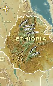 World Mountain Ranges Map by Ethiopia Mountain Ranges Eureka Cartography Berkeley Ca