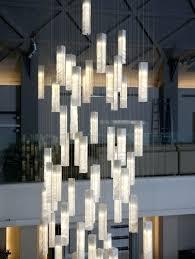 Foyer Lighting Modern Led Crystal Chandelier Pendant Droplight Modern Minimalist
