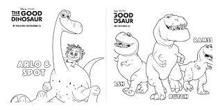 disney pixar u0027s good dinosaur trailer printable activity