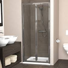 900 Bifold Shower Door by Showerlux Legacy Bi Fold Shower Door 1000mm