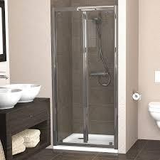 showerlux legacy bi fold shower door 1000mm