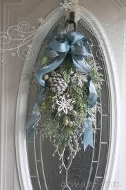 Navy Blue Door Best 25 Blue Christmas Decor Ideas On Pinterest Blue Christmas