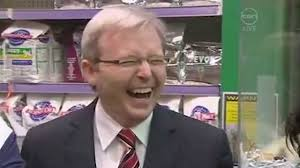 Kevin Rudd Meme - kevin rudd s laugh extended edition rove youtube