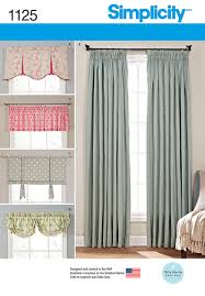simplicity patterns us1176os window treatments os one size 25