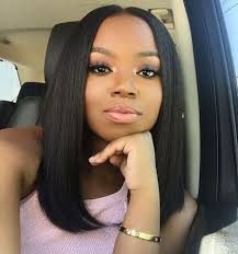 Short Bob Weave Hairstyles Best 25 Middle Part Bob Ideas On Pinterest Middle Part Sew In