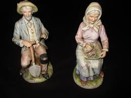 home interior figurines vintage porcelain figurines farmer home interiors