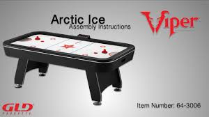 Halex Hockey Table How To Viper Arctic Ice Assembly Instructions On Vimeo
