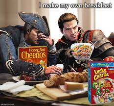 Lucky Charms Meme - fuckin lucky charms assassin s creed know your meme
