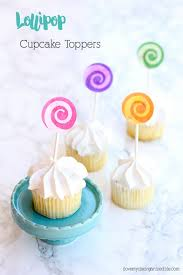 cupcake toppers lollipop cupcake toppers using cricut explore air 2 i my