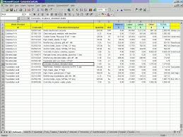 estimate sample building construction estimate sample fern spreadsheet