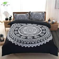 Customized Duvet Covers Mingjie Brand Bohemian Bedding Sets Boho Style Queen Size 3pcs