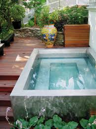 bathroom artistic surrounds tub for outdoor with dark gray