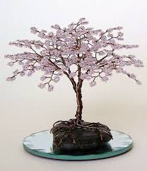 172 best beaded trees images on wire trees tree of