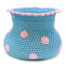 Polka Dot Vase Free Crochet Pattern Polkadot Vase Yarnplaza Com