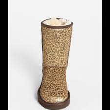 ugg boots in size 11 for s 11 ugg shoes ugg australia leopard print boots from