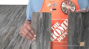 Laminate Floor Installation Cost Bruce Mineral Wood Laminate Flooring The Home Depot Youtube