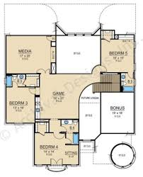 Texas Style Floor Plans by Fairfax Ridge Traditional House Plans Luxury House Plans