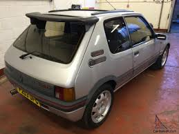 peugeot gti 1980 peugeot 205 gti 1900 1 9 silver 99 000 miles 3 owners dry stored