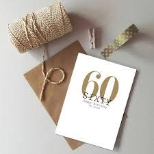 60 Birthday Cards 60th Birthday Card Happy 60th Birthday Sixty Card Age