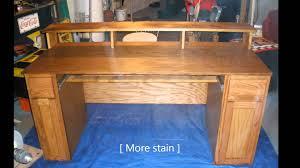Custom Desk Plans Home Recording Studio Desk Plan Cool Uncategorized Design Ideas