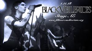 black veil black veil brides asking alexandria tickets 11th january